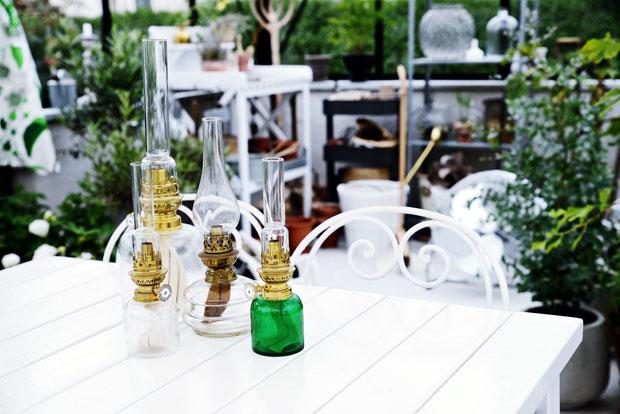 växthusfotogenlampor
