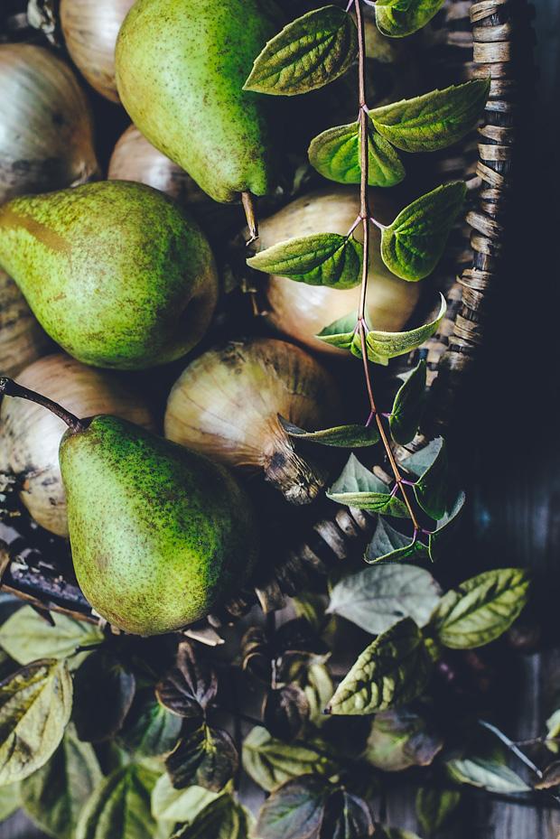 päronkaka med ingefära