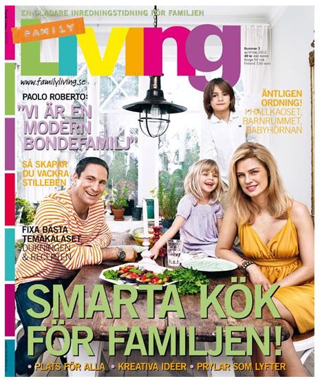 family living tidning